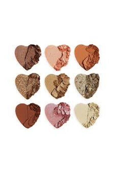 I HEART REVOLUTION Kalp Devrimi Gölge Paleti -palette Of 9 Shadows-heart Breakers