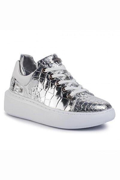 Guess Kadın Gümüş  Sneaker Braylın