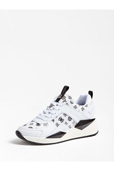 Guess Kadın Beyaz Typıcal Sneaker