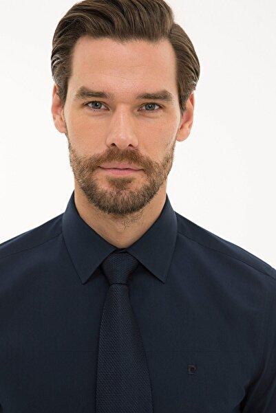 Pierre Cardin Erkek Lacivert Slim Fit Basic Gömlek G021GL004.000.1214451