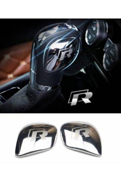 Space Volkswagen R Line (r) Vites Topuzu Logo 3d Dekoratif Metal Renk