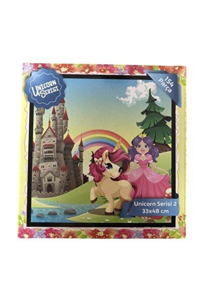 Ceren Kırtasiye Unicorn Serisi 154 Parça Puzzle Seri 2