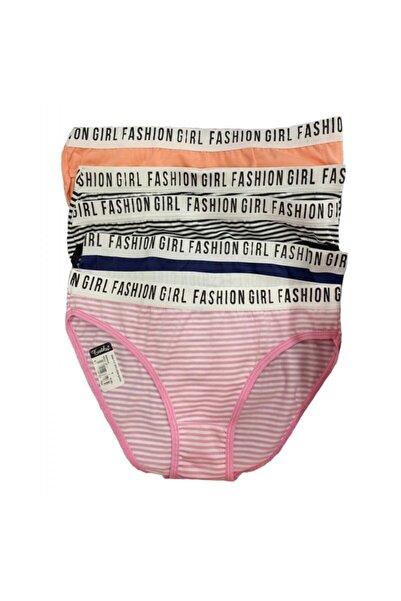 Tutku Çok Renkli Fashion Girl Kadın Slip Külot