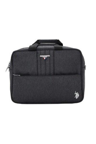 U.S. Polo Assn. Unisex Siyah Plevr Laptop&Evrak Çantası 20513