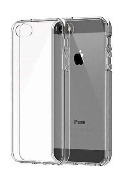 Sunix Apple Iphone 5s Kılıf Tam Şeffaf Silikon Transparan