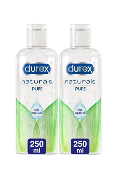 Durex Kayganlaştırıcı Jel Naturals, 250 Ml X 2 Adet