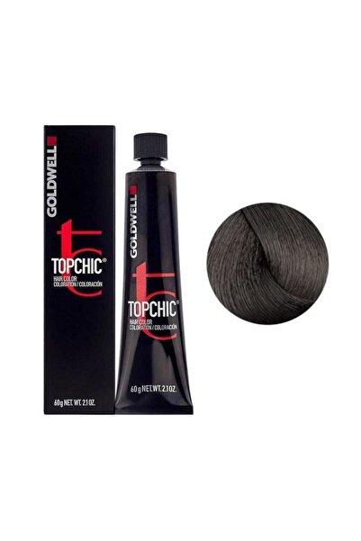 GOLDWELL Topchic Kalıcı Saç Boyası 60 ml - 5n Açık Kahve + Oksidan