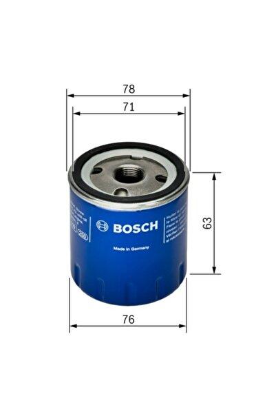 Bosch Yağ Filtresi - Nıssan Mıcra - 1.5 Dci-60 Kw 2003 - 2010