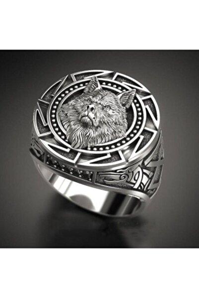 Talya Jewellery Kurt Figürlü Gümüş Yüzük
