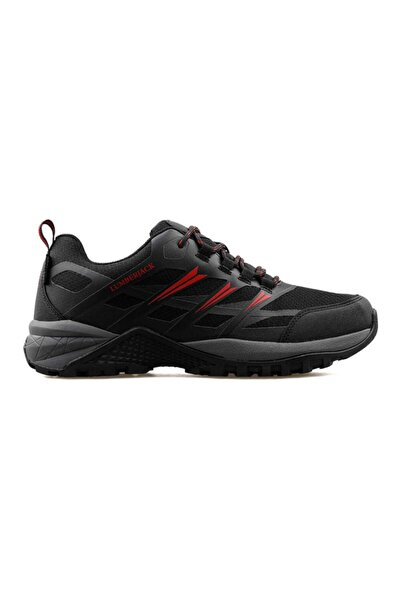 lumberjack Cardona Erkek Outdoor Ayakkabı-siyah Kırmızı