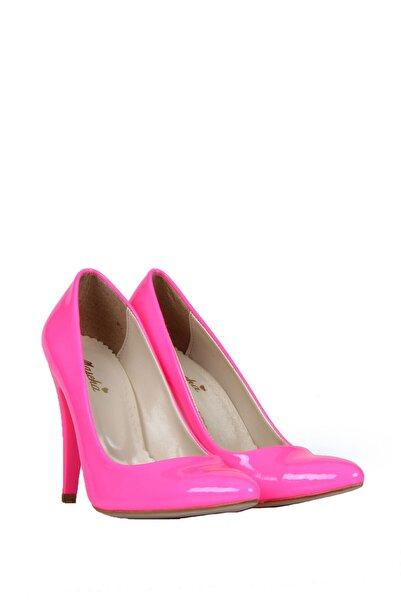 PUNTO Kadın Pembe Topuklu Ayakkabı