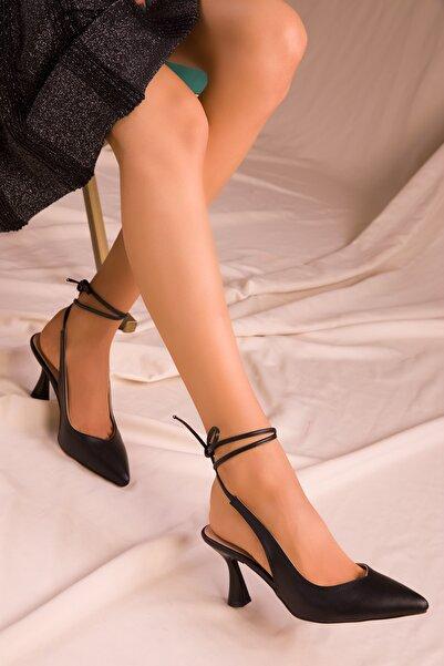 SOHO Siyah Kadın Klasik Topuklu Ayakkabı 15776