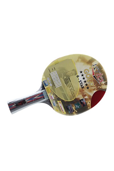VERTEX Gold 6 Yıldız Masa Tenisi Raketi