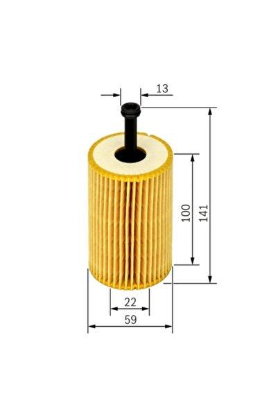 Bosch Yağ Filtresi - Cıtroen C3 - 1.6 16v-80 Kw 2002 - 2005