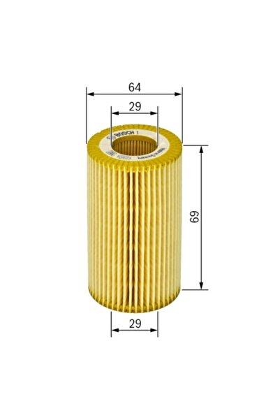 Bosch Yağ Filtresi - Cıtroen C3 - 1.6-81 Kw 2009 - 2012