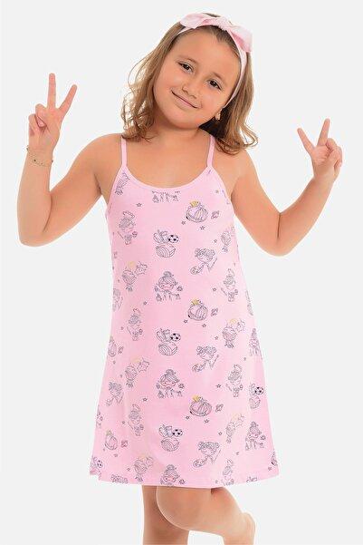 Little Frog Kız Çocuk Ip Askılı Tunik