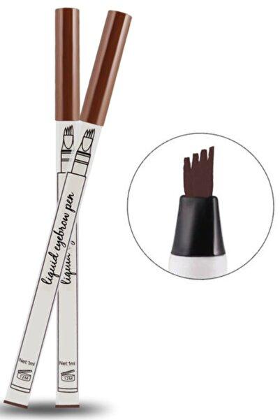 Mobee Kestane Fine Sketch Kaş Kalemi Şekillendirme Boyama Kaş Rimeli Kalıcı Microblading