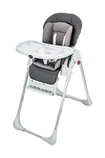Baby Care Bc-511 Flex Lüks Gri Mama Sandalyesi