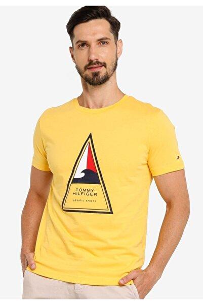 Tommy Hilfiger Surf Logo Erkek Tshirt
