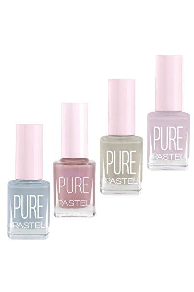 Pastel Oje Pure 4'lü 73.set 609-608-607-610