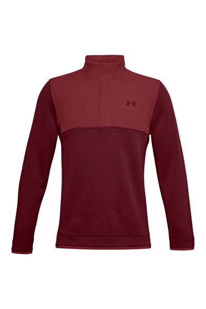 Under Armour Erkek Spor Sweatshirt - UA Storm SF 1/2 Snap - 1356660-615