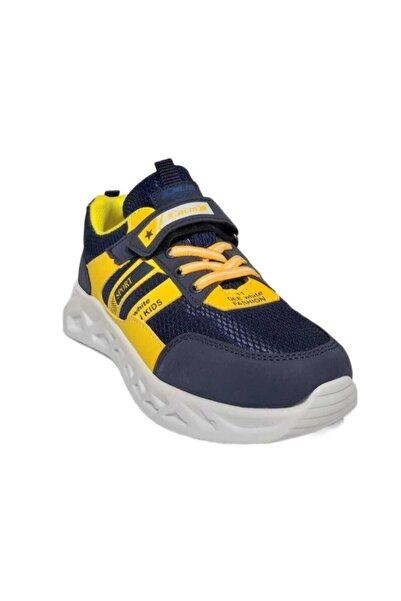 PAPUÇÇ Lacıvert Sarı Cocuk Ayakkabı
