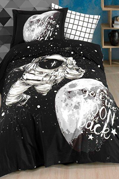 Hobby Galaxy Tek Kişilik Nevresim Takımı Siyah