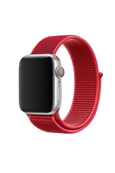 zore Apple Watch 5 44 Mm Özel Tasarim Hasır Kordon