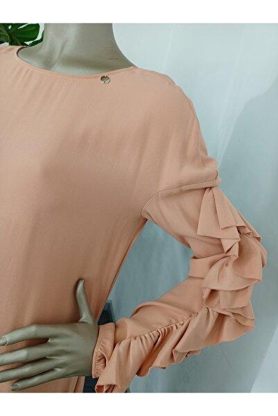 Liu Jo Kolları Fırfır Detaylı Elbise