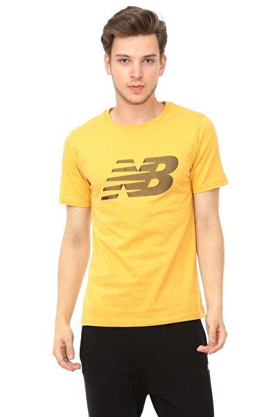 New Balance Erkek T-shirt - Nb Logo- Mps017-frs