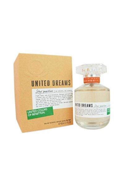 Benetton Dreams Stay Positive Edt 80 ml Kadın Parfümü 8433982000539