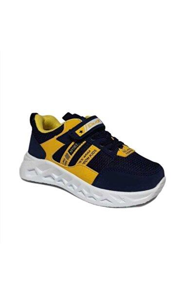 PAPUÇÇ Erkek Çocuk Sarı Lacivert Sneaker