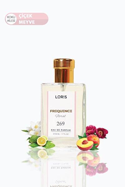 Loris Frequence Parfume Edp 50ml Çiçek-meyve Kadın    Parfüm K-269