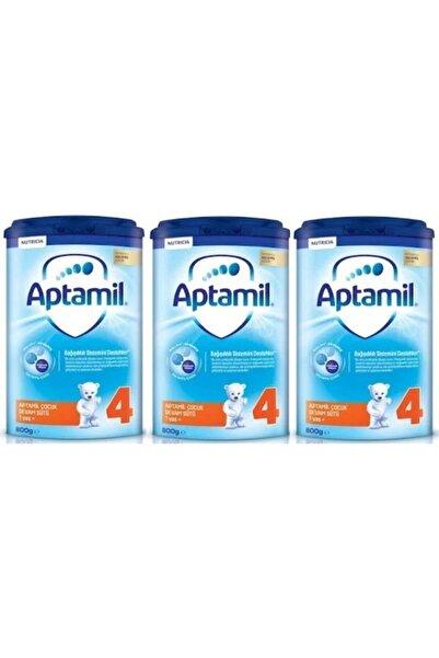 Aptamil 4 Çocuk Devam Sütü 800 G 1 Yaş+ Akıllı Kutu X 3 Adet