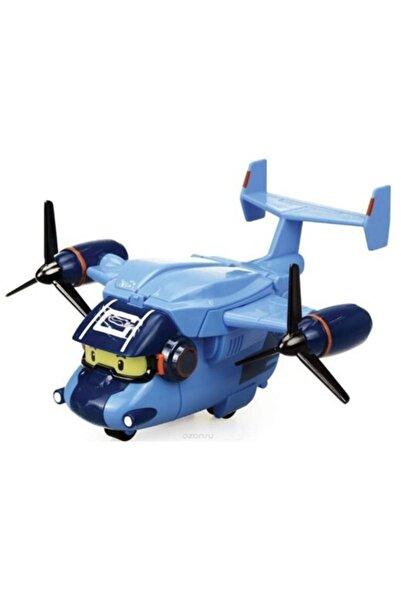 Robocar Poli Robocar Carey Oyuncak Robocar Kargo Uçağı Figürü Kahraman Poli Çocuk Oyuncakları