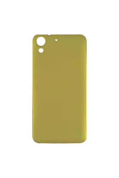 HTC Desire 728 İçin Altın Silikon Kılıf