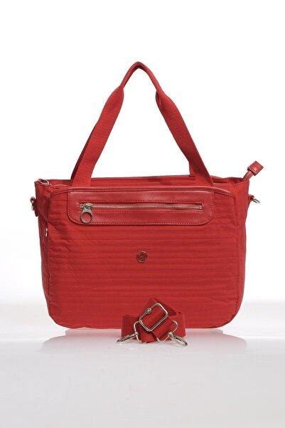 SMART BAGS Smb3012-0019 Kırmızı Kadın Omuz Çantası