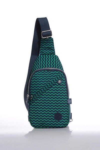 SMART BAGS Smb1239-0066 Lacivert/yeşil Kadın Body Bag