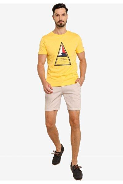 Tommy Hilfiger Aquatıc Sports Logo Erkek Tshirt