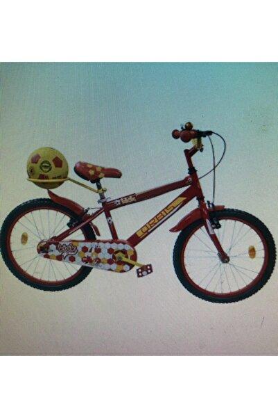 ORBİS 20 Jant Fanatik Top, Zil, Ayna Ve Sepetli Çocuk Bisikleti 6-9 Yaş Sarı Kırmızı