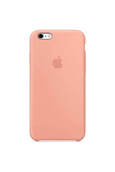 Miyosa Iphone 6 Plus Uyumlu Altı Açık Içi Süet Flamingo Lansman Silikon Kılıf