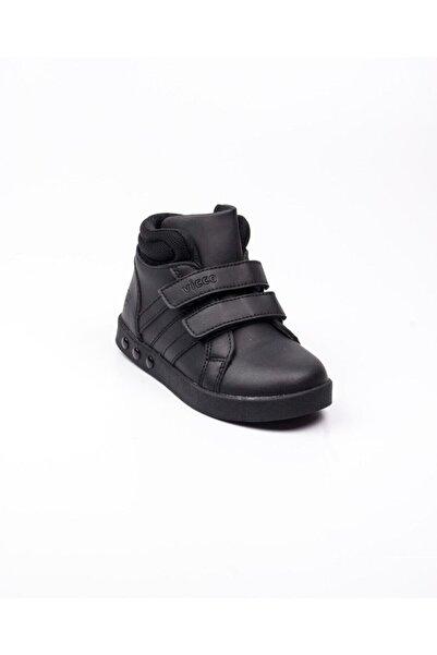 Vicco 313. P19k.104 Siyah Işıklı Çocuk Spor Ayakkabı(26-30) Siyah-28