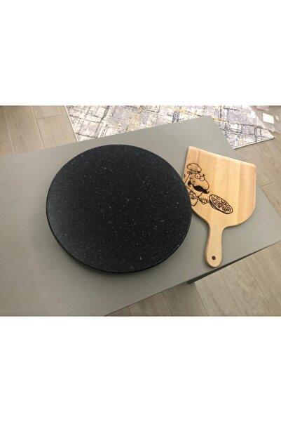 LENA Natural Doğaltaş Granit Ekmek Pizza Lahmacun Pişirme Taşı