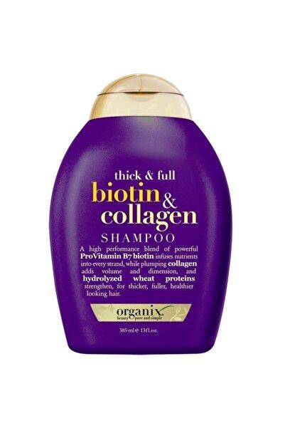OGX Dolgunlaştırıcı Biotin Ve Kolajen Şampuan 385 Ml
