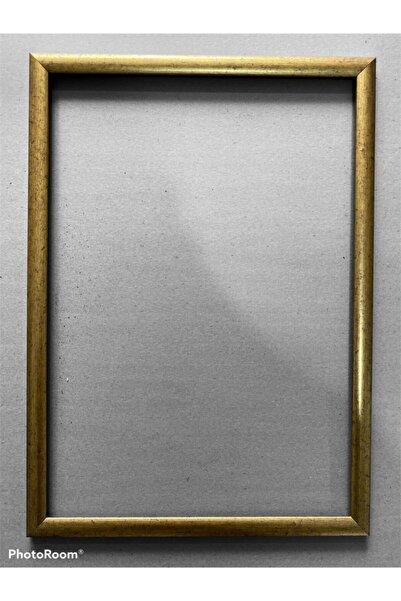 BAKİ ÇERÇEVE Kara Kalem 35x50 Çerçevesi Camlı