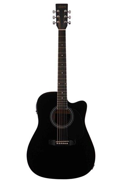 Accacia Acf-650n-bkc Siyah Elektro Akustik Gitar