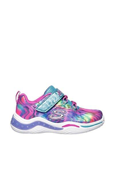 SKECHERS KIDS POWER PETALS-FLOWERSPARK Küçük Kız Çocuk Çok Renkli Spor Ayakkabı