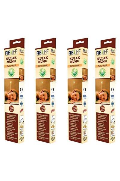 Relife Kulak Temizleme Mumu Çubuğu 4 Kutu (8 Çubuk)