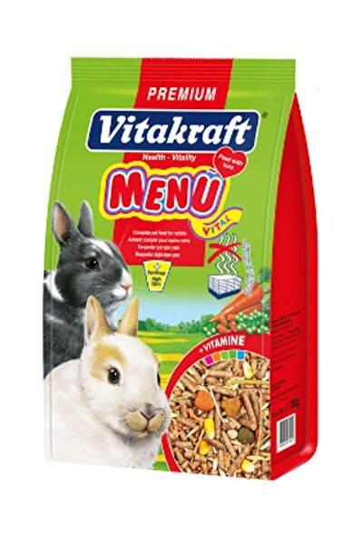Vitakraft Menü Tavşan Yemi 1000 gr