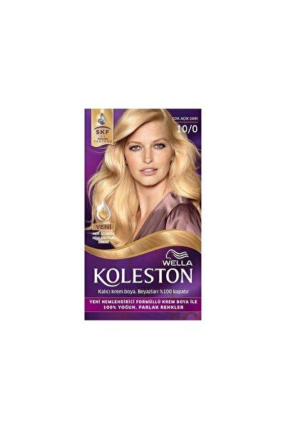 Koleston Set Saç Boyası 10/0 Çok Açık Sarı